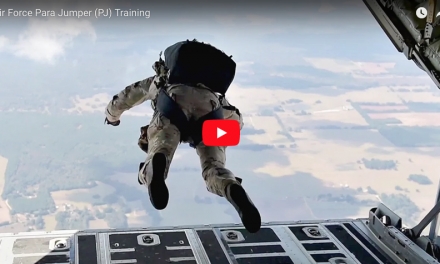 Air Force ParaRescue Training