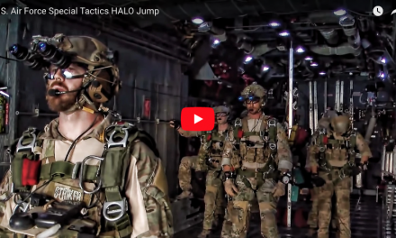 U.S. Air Force Special Tactics HALO Jump