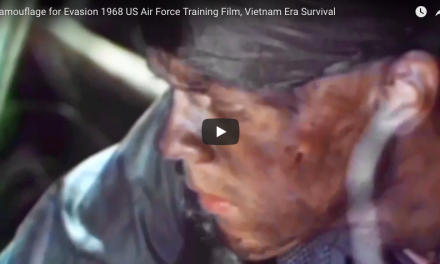 US Air Force Training Film – Camouflage for Evasion 1968