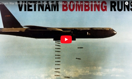 Vietnam War Bombing Runs Over Khe Sanh | 1968