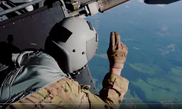 USAF Special Tactics Airmen HALO Jump
