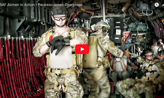 USAF Airmen In Action • Pararescuemen Operations