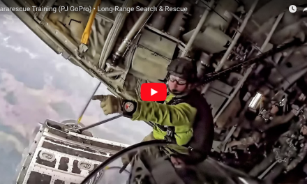 Long Range Search and Rescue – Pararescue Training GoPro Footage