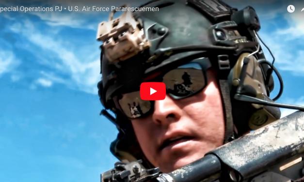 Special Operations PJs USAF Pararescuemen