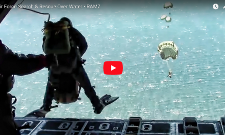 Air Force Search & Rescue Over Water