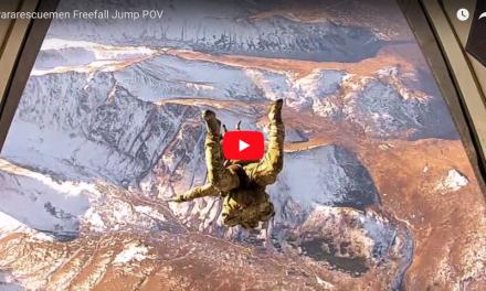 Pararescuemen Freefall Jump POV