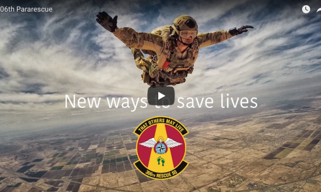 New Way to Save Lives – 306th Pararescue