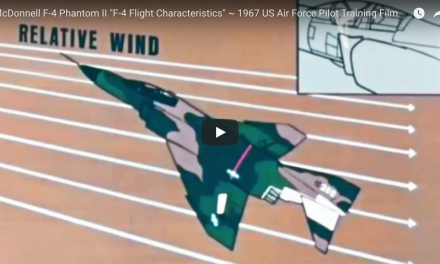 "F-4 Phantom II ""F-4 Flight Characteristics"" ~ 1967 US Air Force Pilot Training Film"