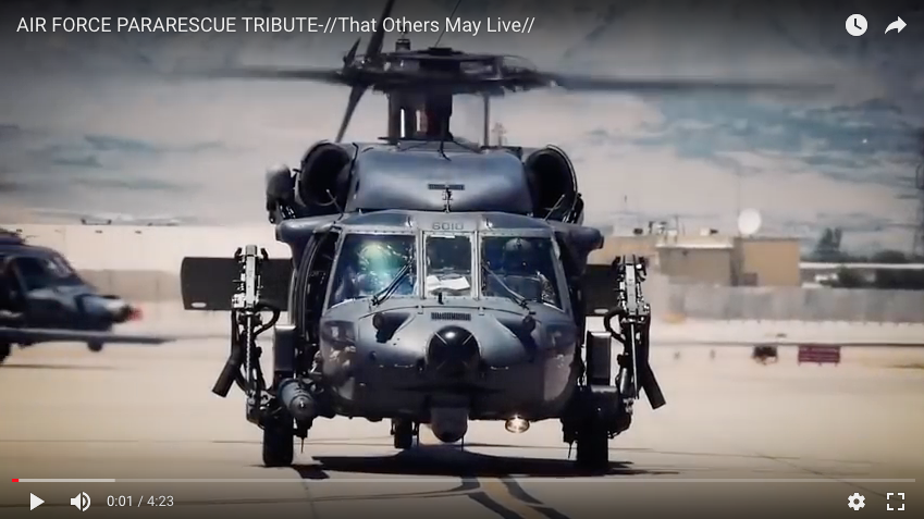 Air Force Pararescue Tribute – These guys are incredible!