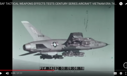 USAF Tactical Weapons Effects Tests – Vietnam Era Aircraft