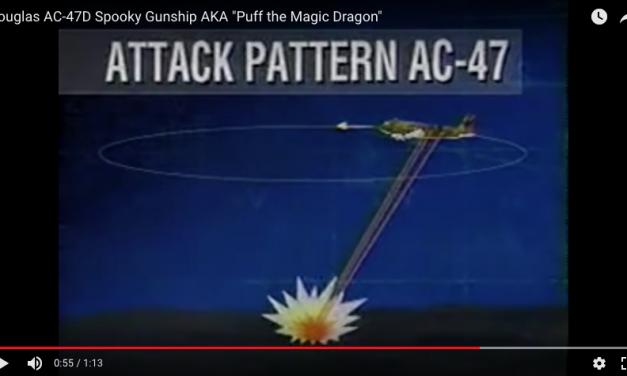 "Douglas AC-47D Spooky Gunship AKA ""Puff the Magic Dragon"""