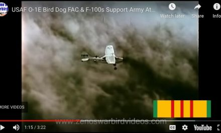 USAF Supporting the Army in Vietnam | O-1E Bird Dog FAC & F-100s