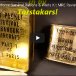 Air Force Survival Rations & Pilots Kit MRE from Vietnam