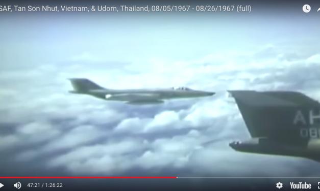 USAF in Tan Son Nhut, Vietnam, & Udorn, Thailand