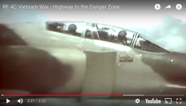 USAF in Vietnam, RF-4C – Highway to the Danger Zone