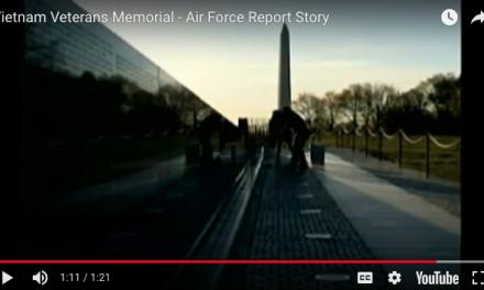 Vietnam Veterans Memorial – Air Force Report Story