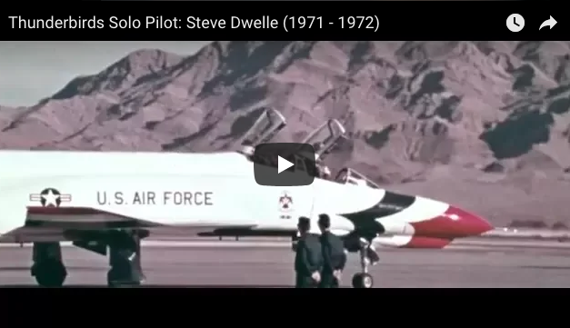 Thunderbirds Solo Pilot: Steve Dwelle (1971 – 1972)